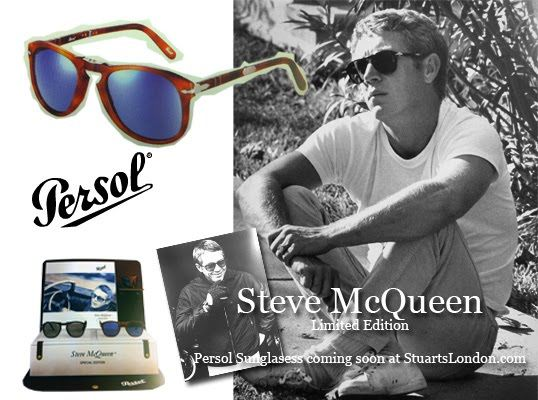 Steve McQueen Limited edition Persol Sunglasses Coming