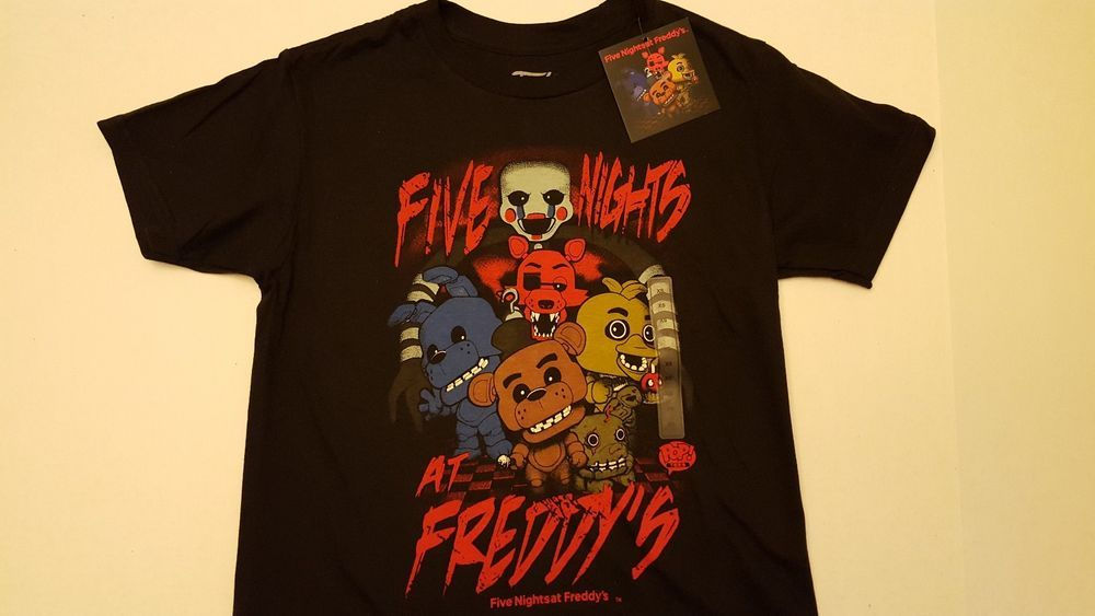 Funko POP. Camisetas de hombre: FNAF–FNAF grupo fMotDMuN