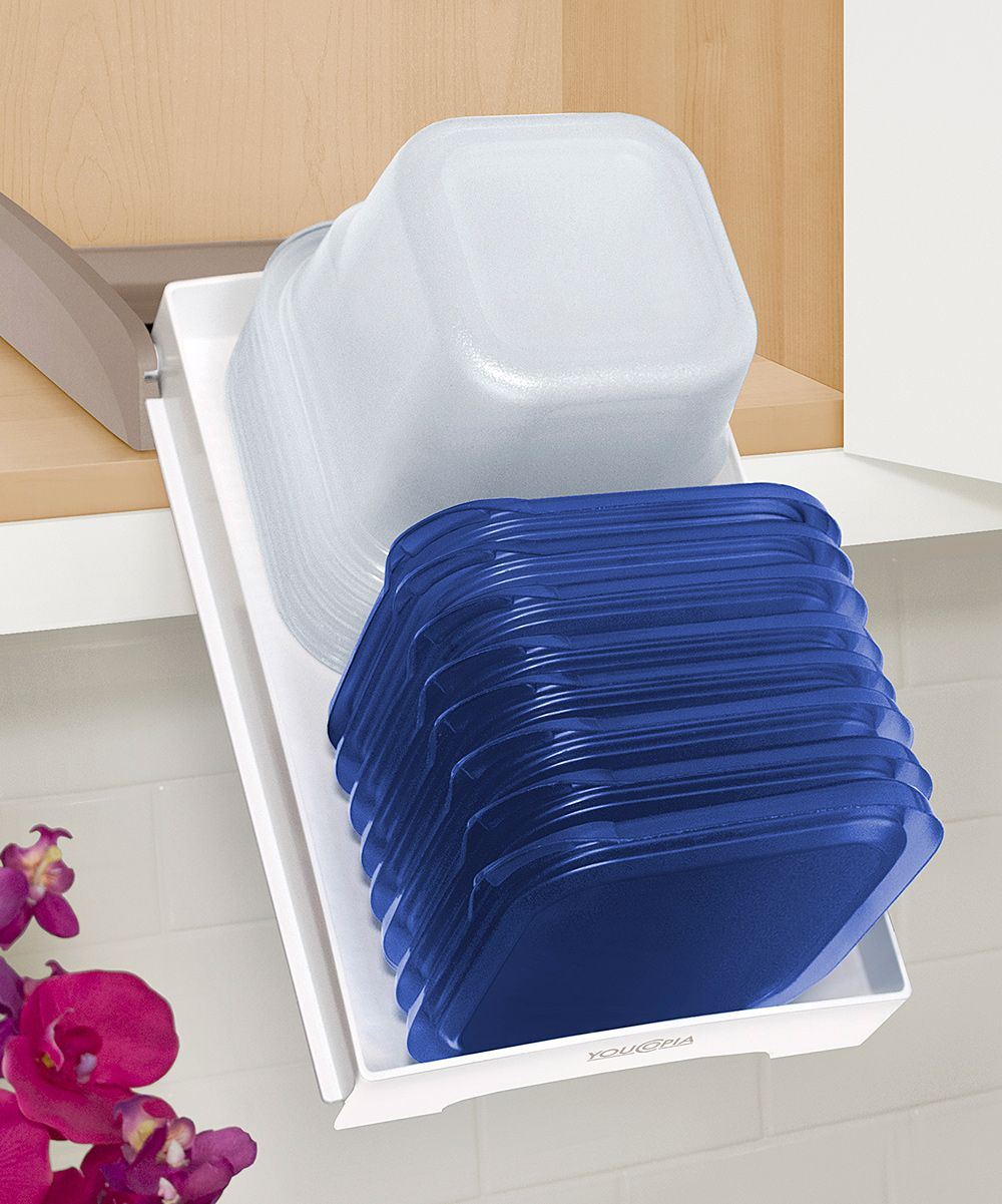 Food Container Cabinet Organizer Organize Your Tupperwear