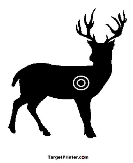photograph about Printable Deer Targets named Cost-free Deer Taking pictures Objectives Printable aims Deer