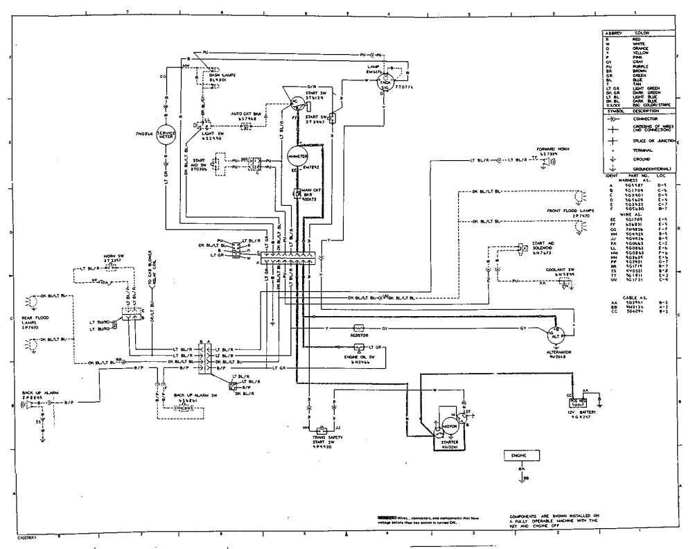 12  Caterpillar C7 Engine Wiring Diagram
