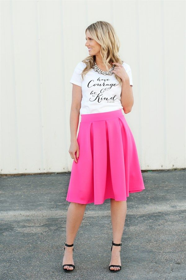 a76440b724 Spring A-line skirts - 7 Colors