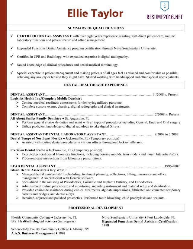 Good Resume Example 2016 | Resume and Letter | Career | Pinterest ...