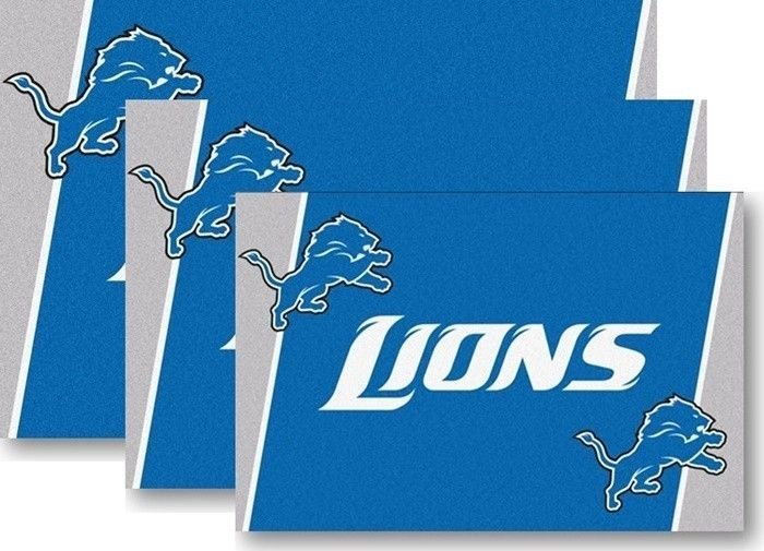 Use the code PINFIVE to receive an additional 5% discount off the price of the  Detroit Lions NFL Area Rugs at sportsfansplus.com