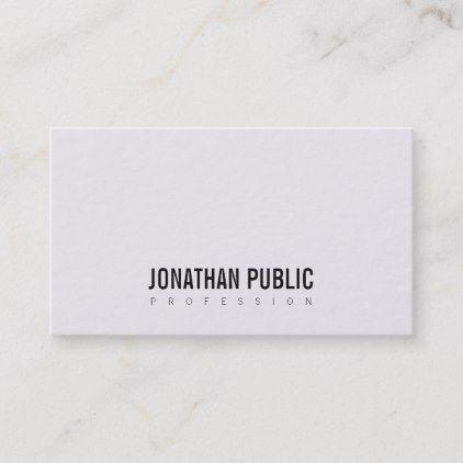 Black Plain Business Business Card Zazzle Com Plain Business Cards Cards
