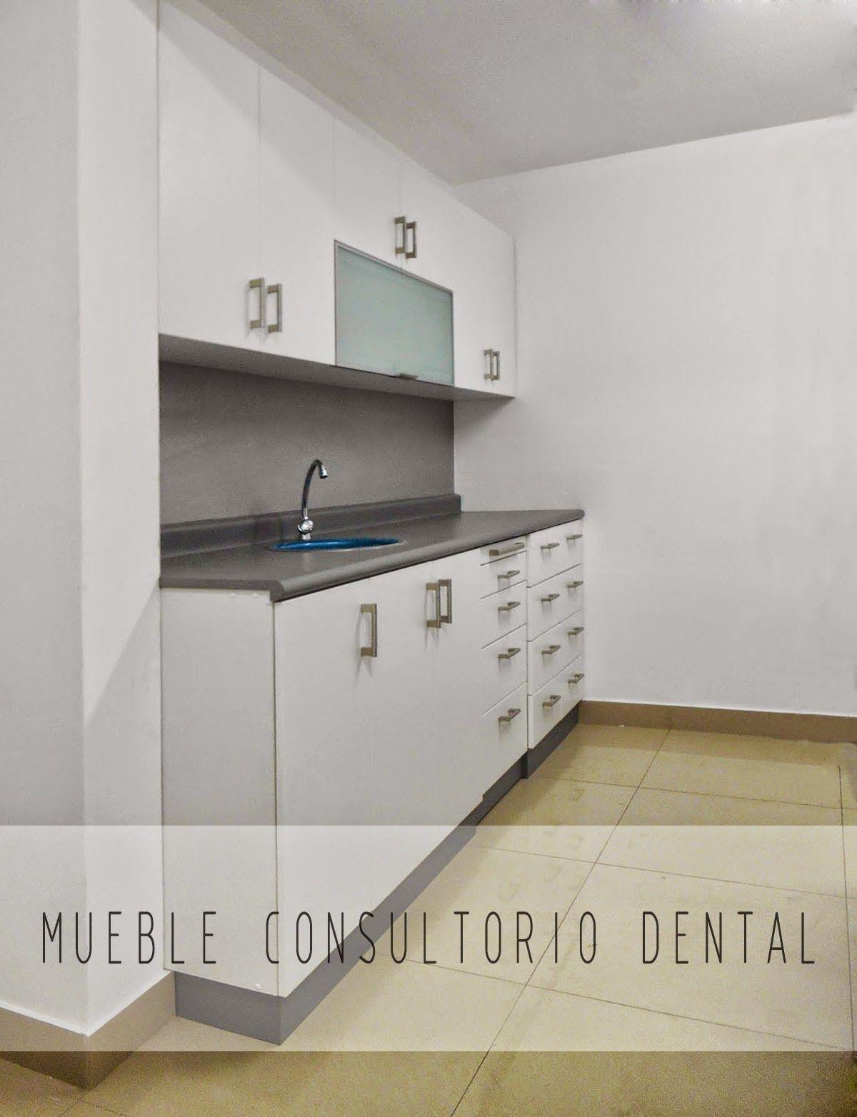 mueble consultorio dental en melamine muebles