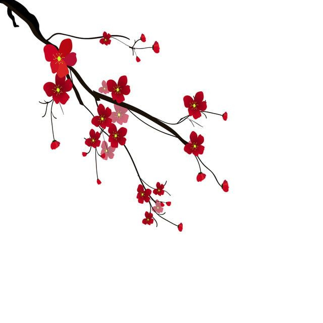 Watercolor Sakura Frame Background With Blossom Cherry Tree Branches, Sakura, Blossom, Hand Drawn PNG and Vector with Transparent Background for Free Download