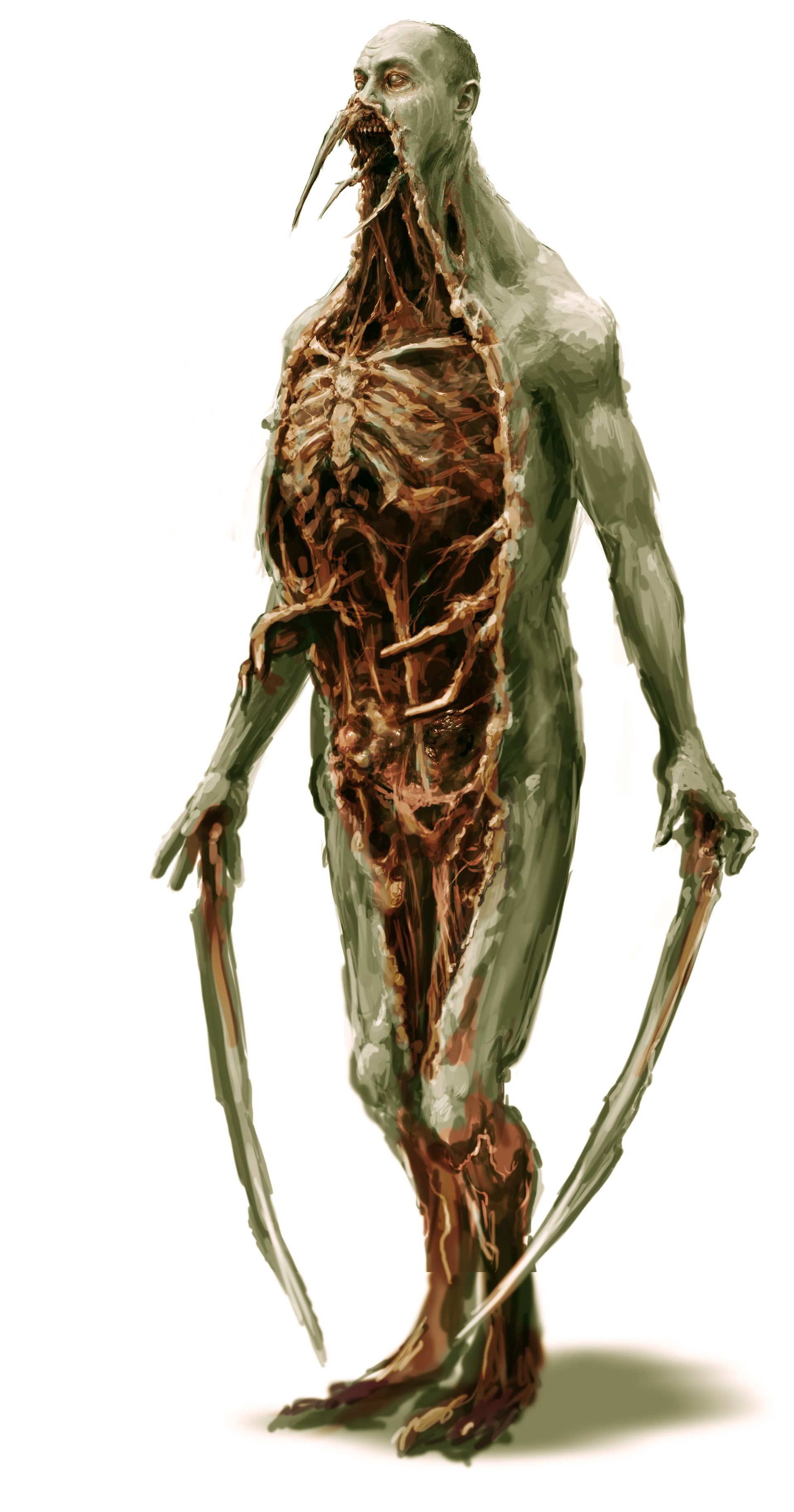 ArtStation - Dead Space, Ben Wanat   Creature Concept Art ... Dead Space 3 Monsters