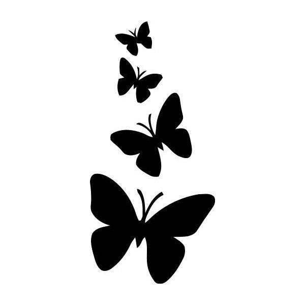 Stencil mariposas stencilstickers stencil - Plantillas de decoracion ...