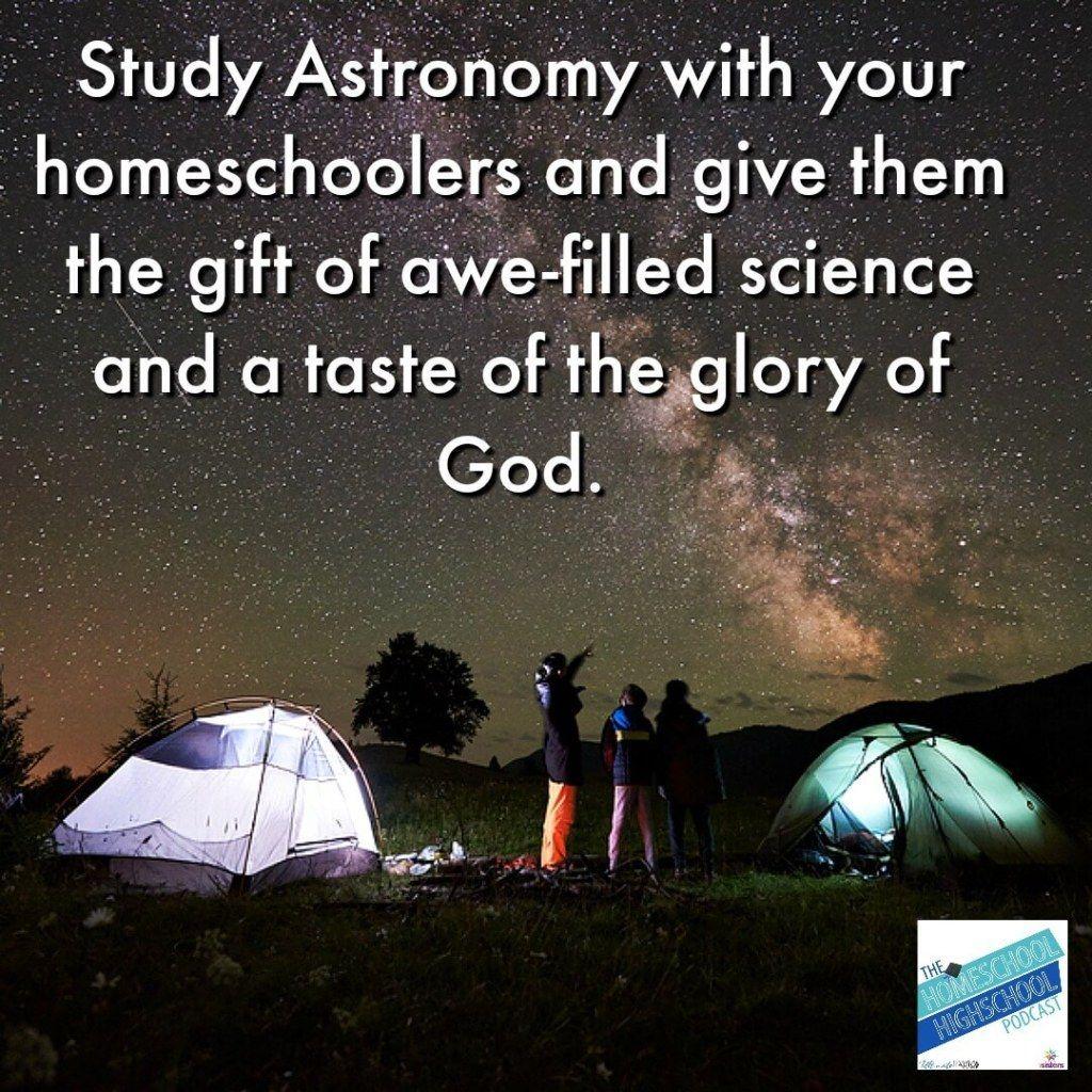 Hshsp Ep 154 Astronomy For Homeschool High School