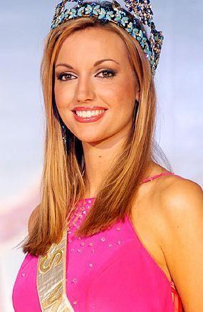 Miss ireland rosanna davison won the miss world 2003 miss world miss ireland rosanna davison won the miss world 2003 thecheapjerseys Images