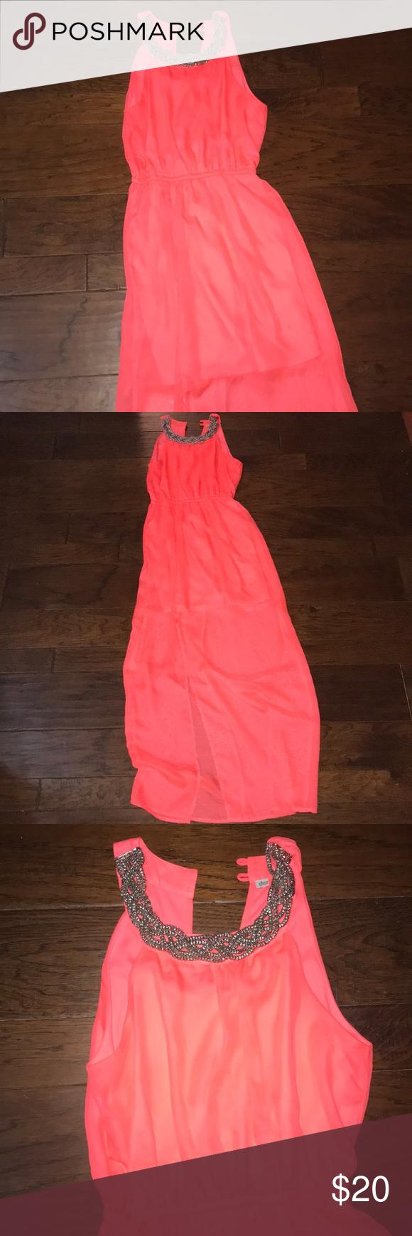 Hot pink maxi dress  Hot pink maxi dress Size small