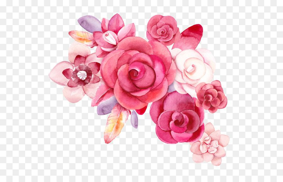 Image Result For Hot Pink Floral Png Ps Flower Drawing Cartoon Flowers Red Flowers