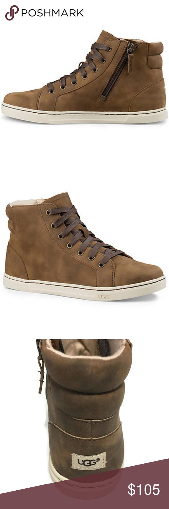 998b64ed812 UGG Australia Gradie Hightop Sneakers 5M Brown New UGG Australia ...