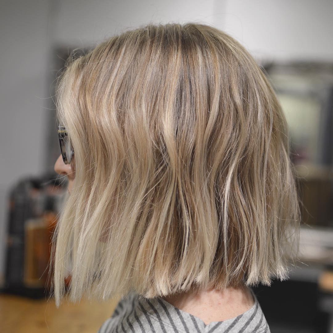 10 Simple Blunt Bob Hairstyles Cool