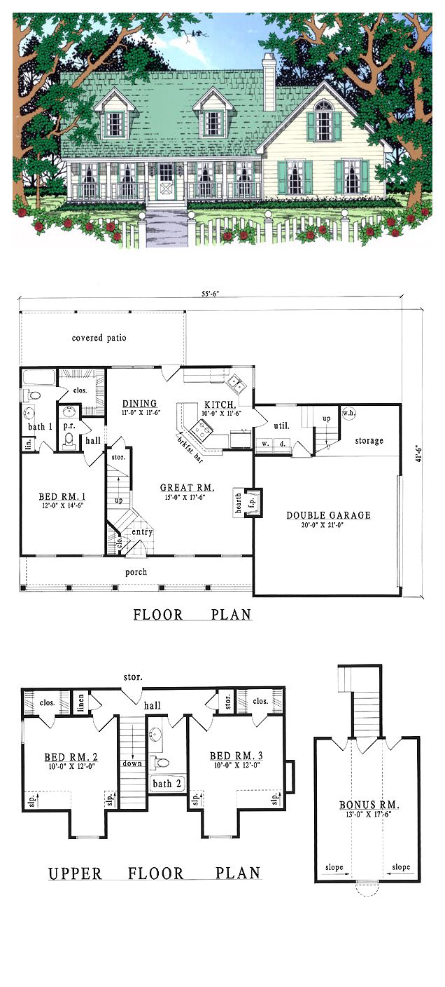 cool build it house plans. CapeCod Style COOL House Plan ID  chp 23563 Total Living Area 1565