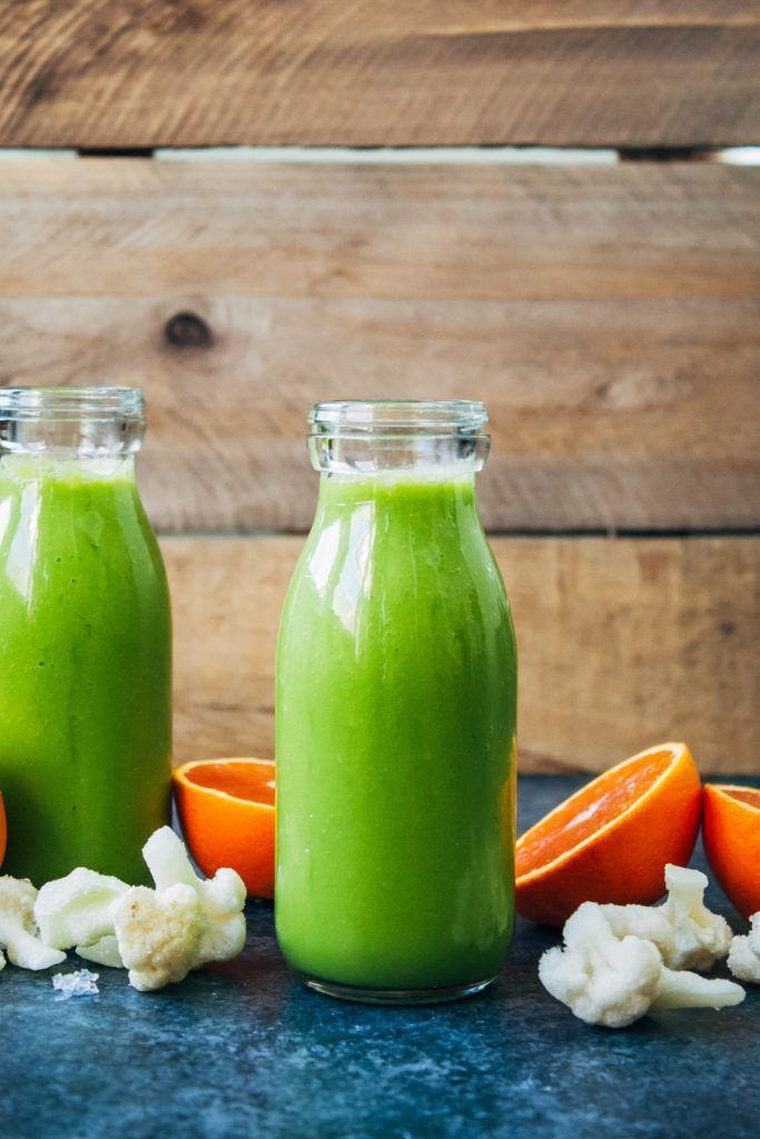 A Really Good Cauliflower Smoothie