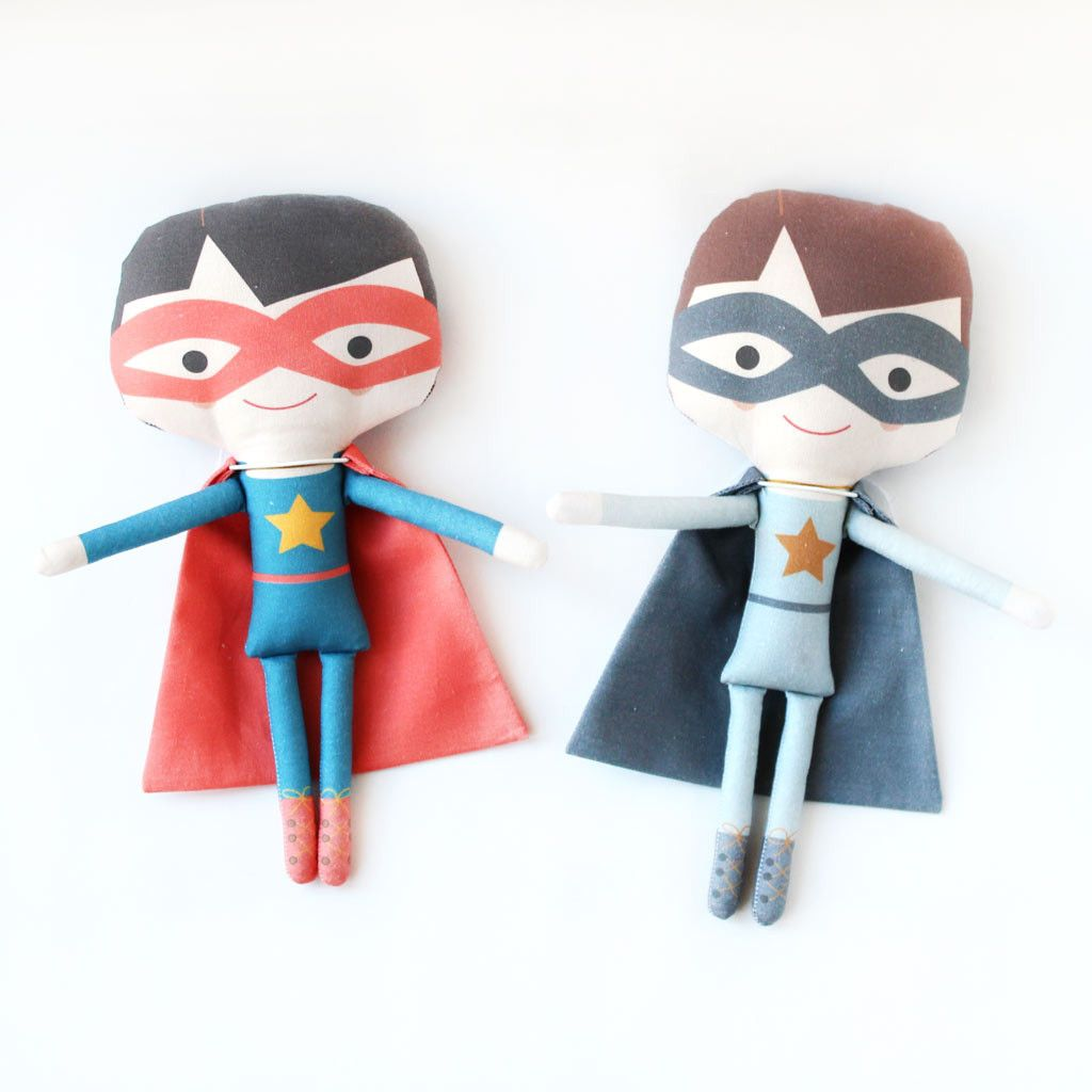 Superhero Handmade Doll