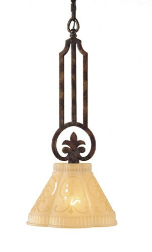 Fleur De Lis Pendant Light Lighting