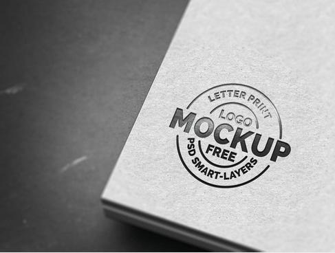 Hugedomains Com Free Logo Mockup Psd Free Logo Mockup Logo Mockup