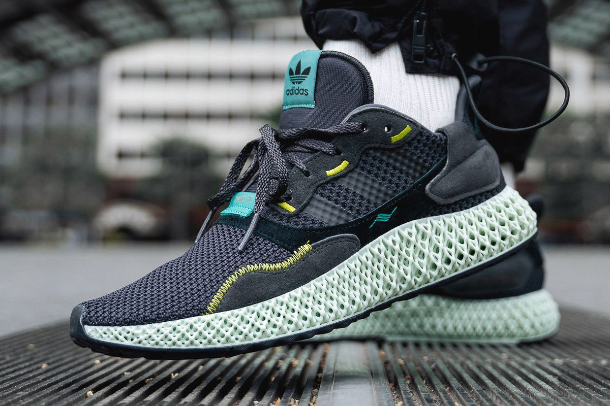 adidas Consortium's ZX4000 4D Goes To The Dark Side With ...
