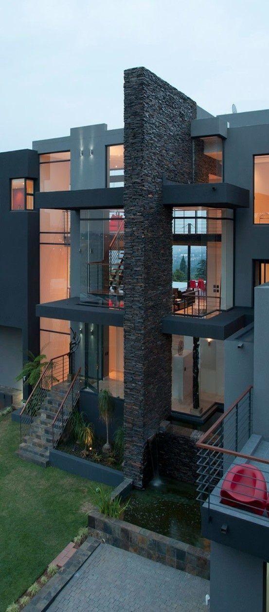 Love This Minimalist Home. Great Idea [ Barndoorhardware.com ] #modern #hardware #slidingdoor