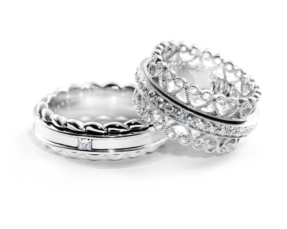 Best Wedding Gifts Under 100: Belgium Diamond House Wedding Rings