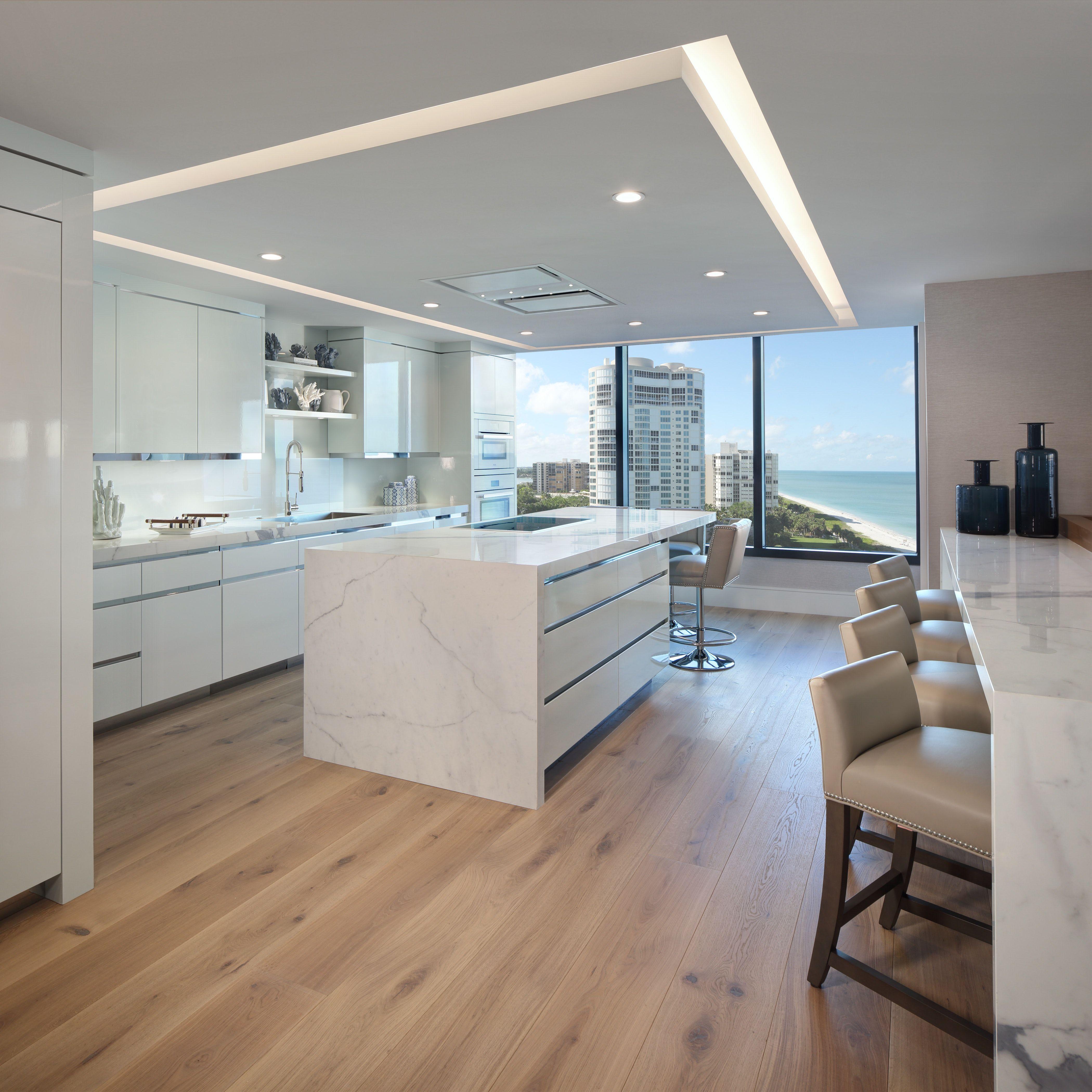 Condo Interior Design , Kitchen Soffit