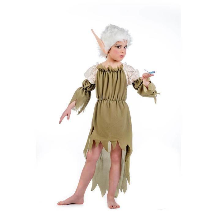 disfraz de elfa de los bosques para nia