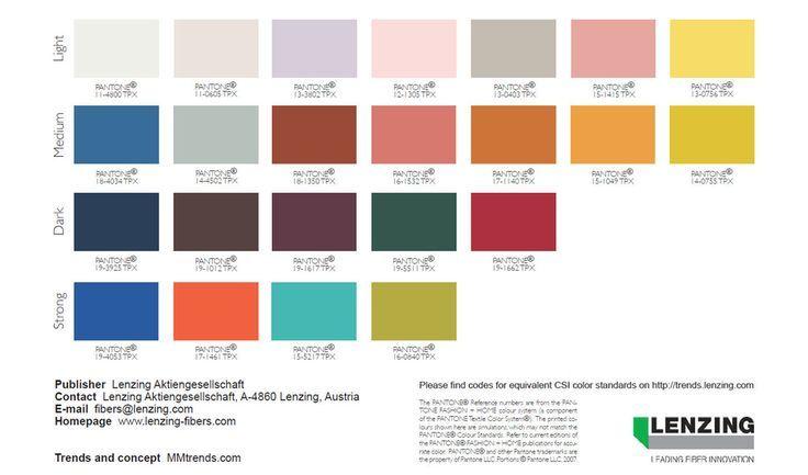 fashion color trends spring summer 2018 ss18 pinterest farben farbkombinationen und. Black Bedroom Furniture Sets. Home Design Ideas