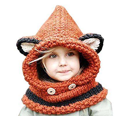 frbelle hiver tricot s bonnet chapeaux renard unisexe. Black Bedroom Furniture Sets. Home Design Ideas