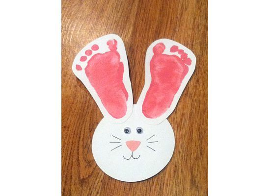 Cute Idea For Babys First Easter