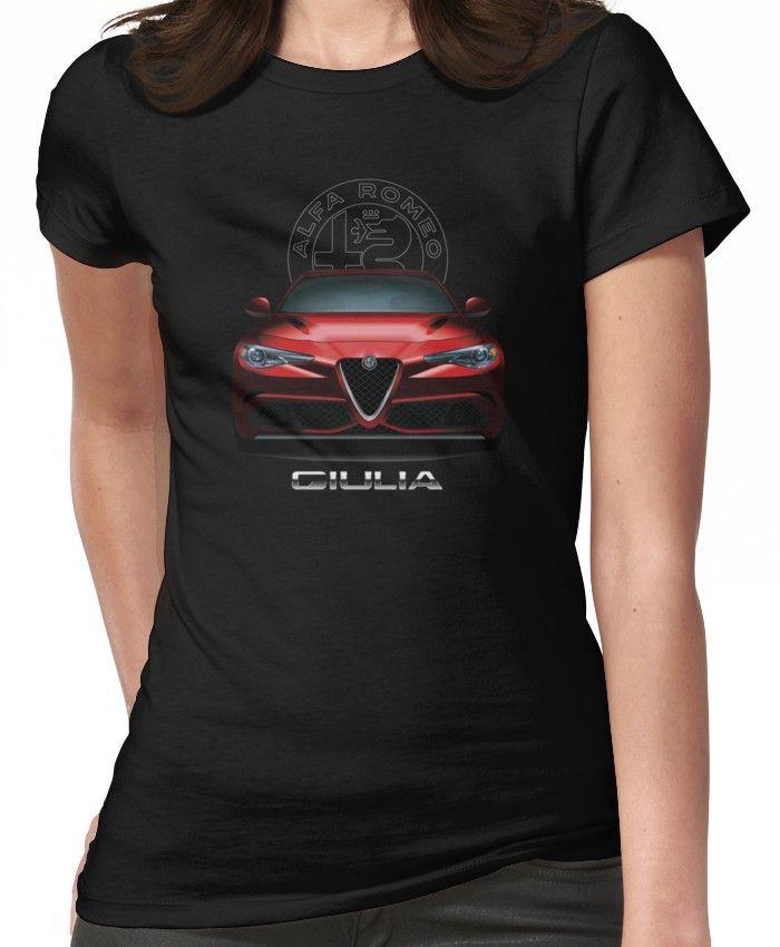 Alfa Romeo Giulia Quadrifoglio Women's T-Shirt