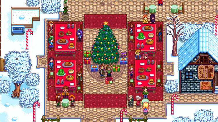 Feast Of The Winter Star Stardew Valley Wiki Stardew Valley Feast Star Citizen Who wouldn't want to raise their own little dino? the winter star stardew valley wiki