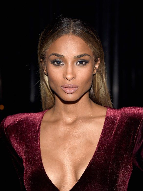 So This Is What Ciara Looks Like Without Makeup Makeup Looks For Red Dress Red Hair Brown Eyes Red Dress Makeup