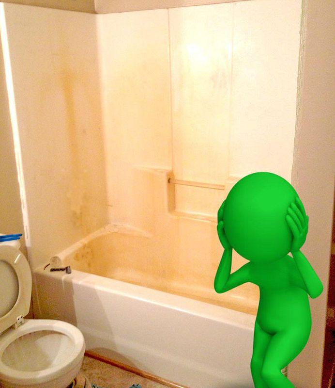 Alien Bathtubs Shall Flee