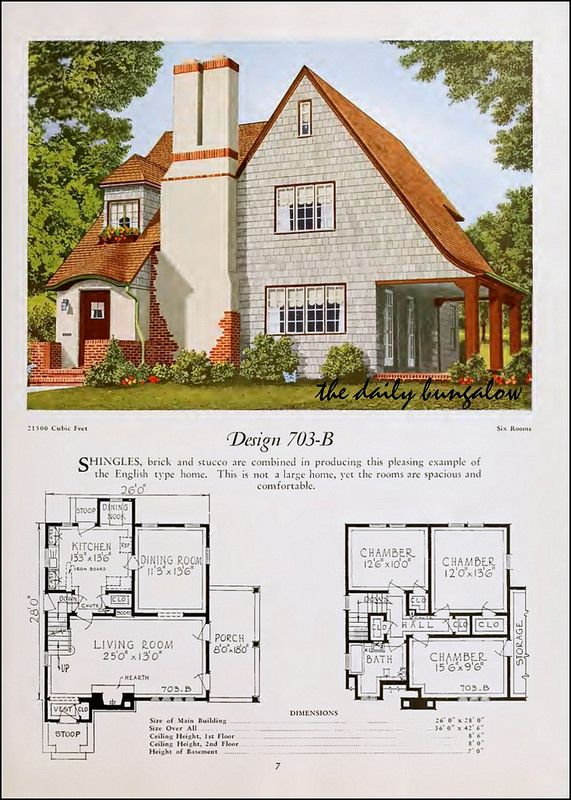 1920 National Plan Service House Plans Vintage House Plans