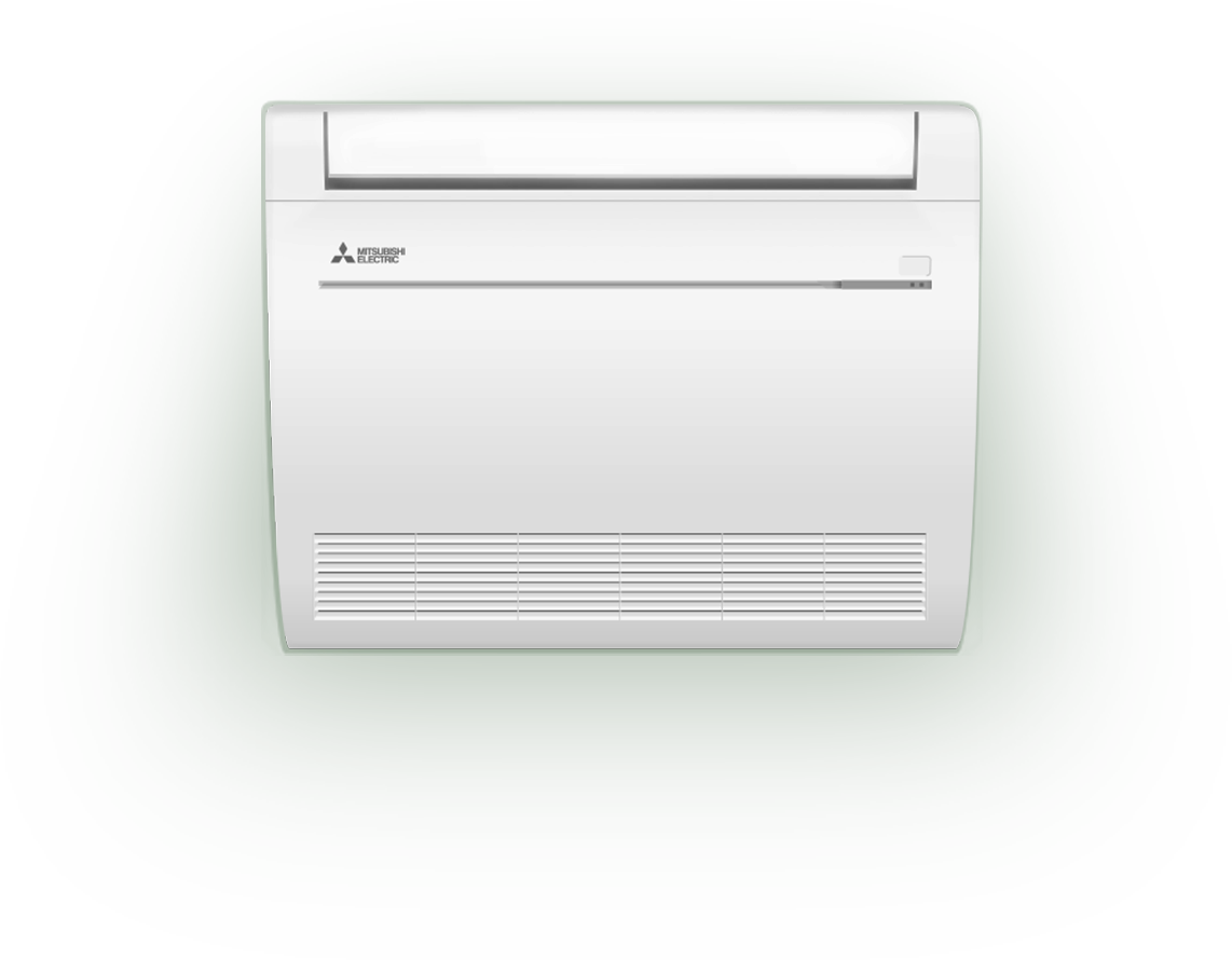 Floor Mounted Ductless Heat Pump Ductless Heating Ductless Heating And Cooling
