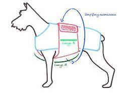 bildergebnis f r schnittmuster hundemantel selber n hen das probiere ich hunde mantel hunde