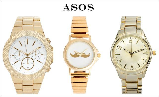 3062235ee3c6 Relojes dorados en Asos de grandes marcas desde 100€  relojes  mujer   dorados  oferta  descuento