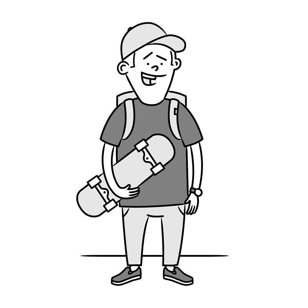 Artist Cartoon Digital Art Doodle Draw Humour Sketch