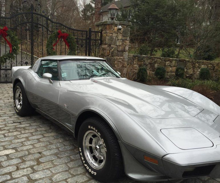 1978 Chevrolet Corvette 25th Anniversary Edition Chevrolet Corvette Corvette Chevrolet
