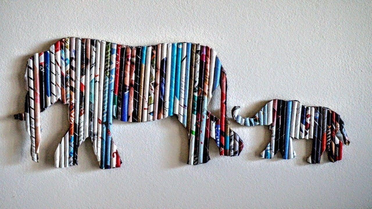Diy Handmade Wall Decor Using Cardboard Home Decor Wall Art