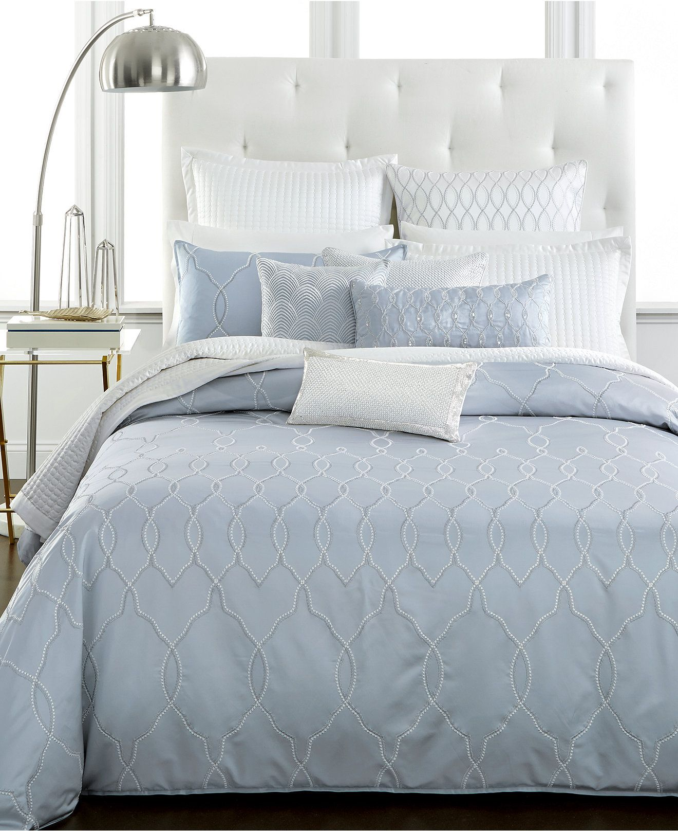 Hotel Collection Finest Pendant Bedding Macy' - Collections Bed