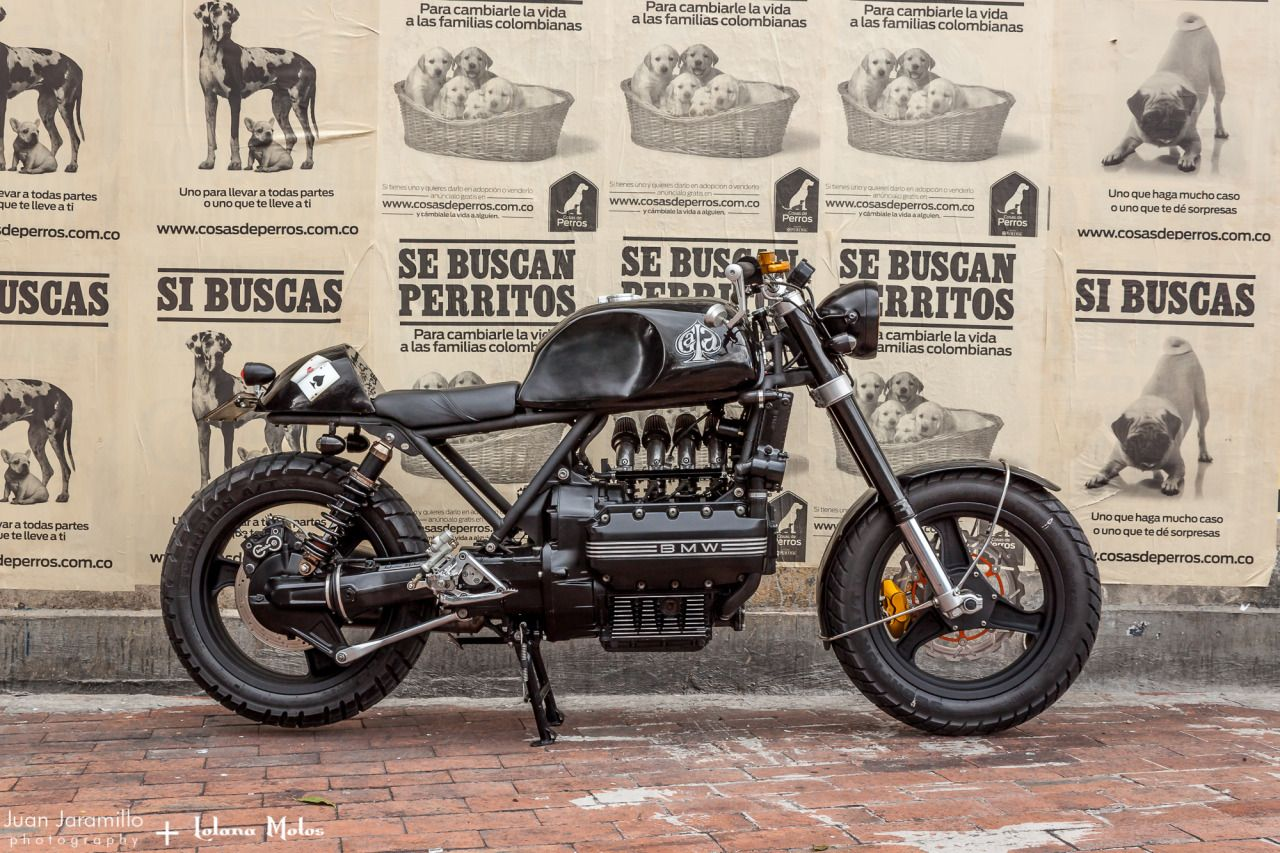 BMW K100 Cafe Racer By Lolana Motos