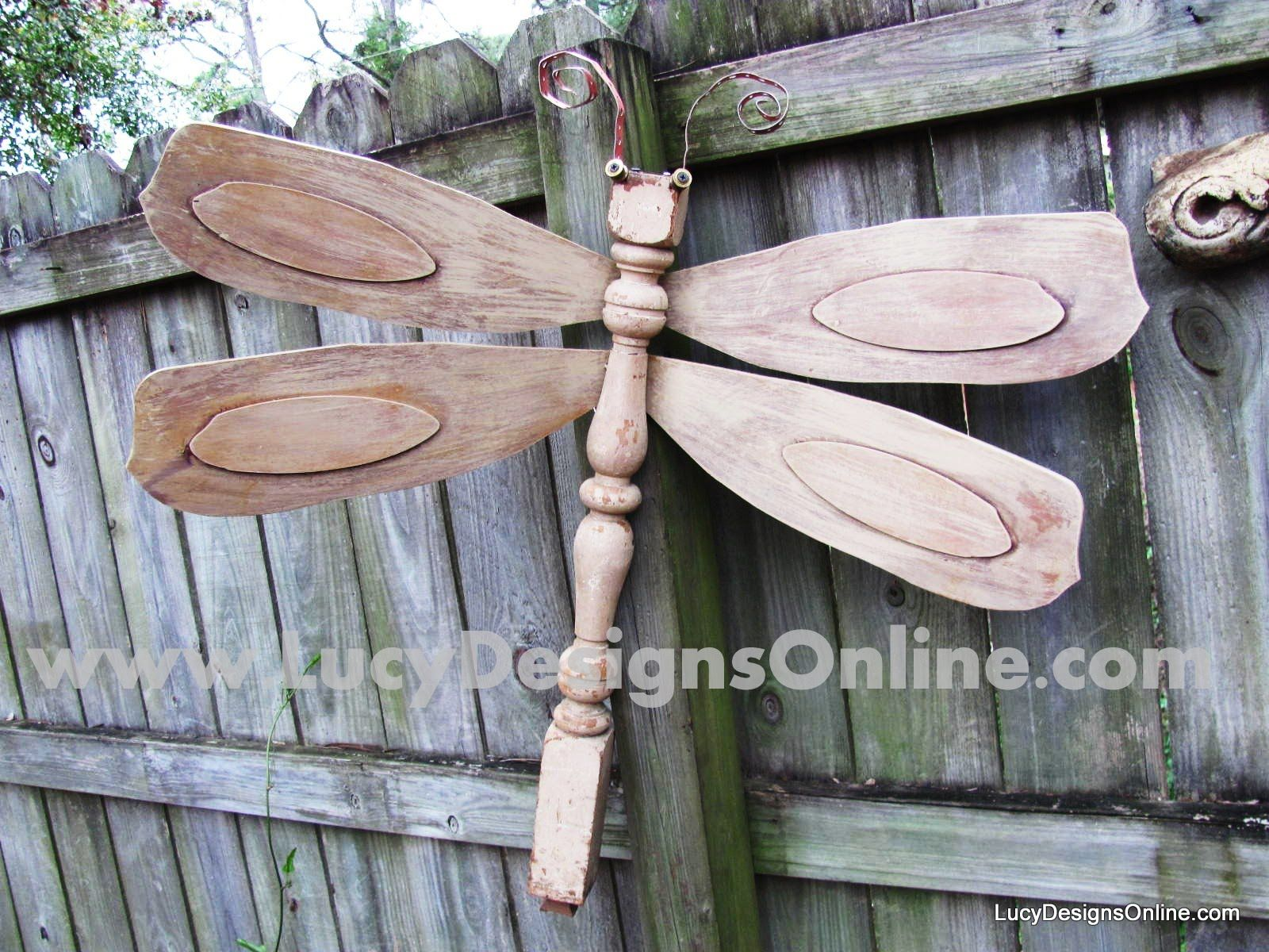 Lucy Designs The Original Table Leg Dragonflies With Ceiling Fan Blade Wings Actual Instruction