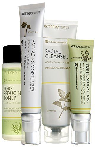 Doterra Skin Care System With Antiaging Moisturizer Essential Skin Care Collection This I Skin Care Toner Products Anti Aging Moisturizer Skin Care System