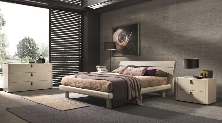 Ideen zum Dekorieren von minimalistischen Stil Schlafzimmer