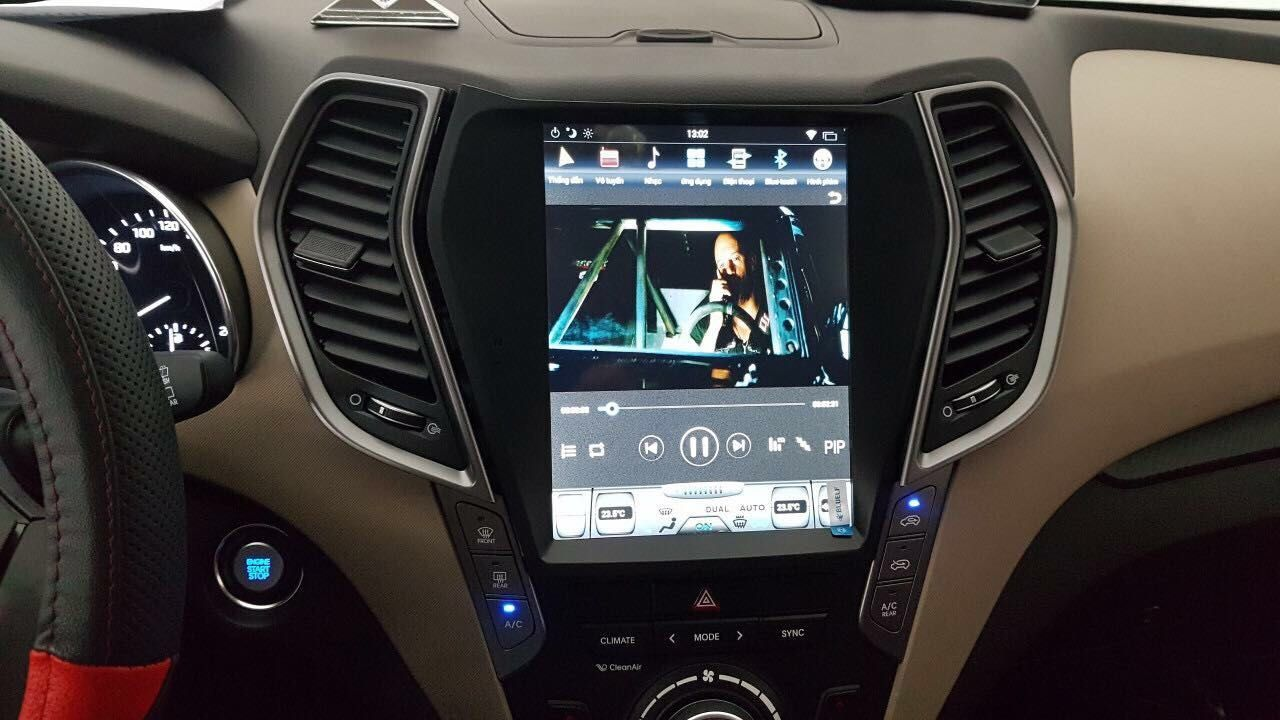 10 4 Tesla Style Vertical Screen Android Navigation Radio