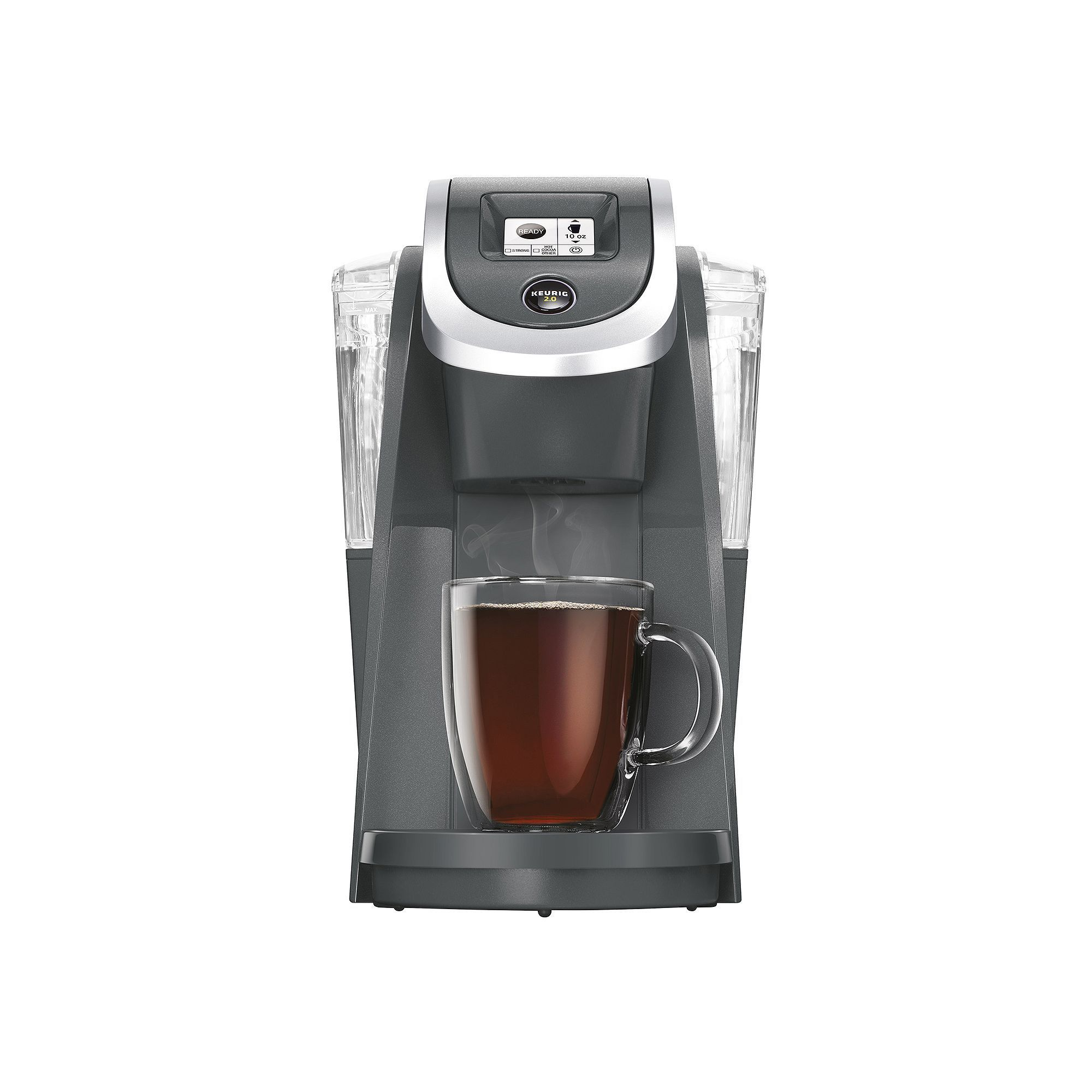 Keurig® K250 Coffee Brewing System, Dark Grey Pod